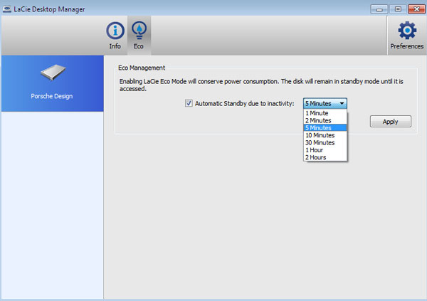 LaCie Desktop Manager Driver Windows