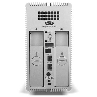 LaCie 2big Quadra USB 3.0 - Back