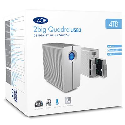 LaCie 2big Quadra USB 3.0 - Packed