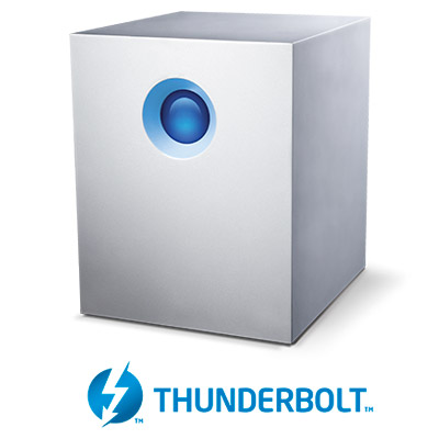 LaCie 5big Thunderbolt™ 2 - Front With Logo