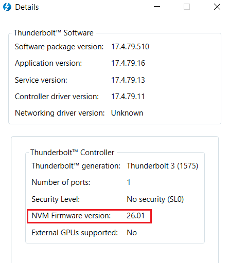 IMPORTANT: Using Thunderbolt 3 on Windows | LaCie Support US
