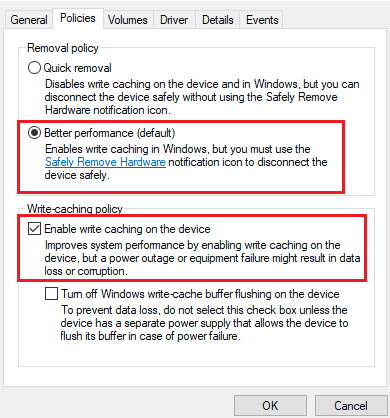 How To Improve Performance Of An External Drive In Windows Lacie Support Us