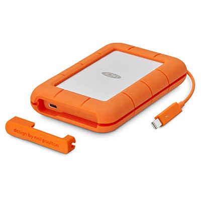 Seagate LaCie Rugged Thunderbolt USB-C mobile drive
