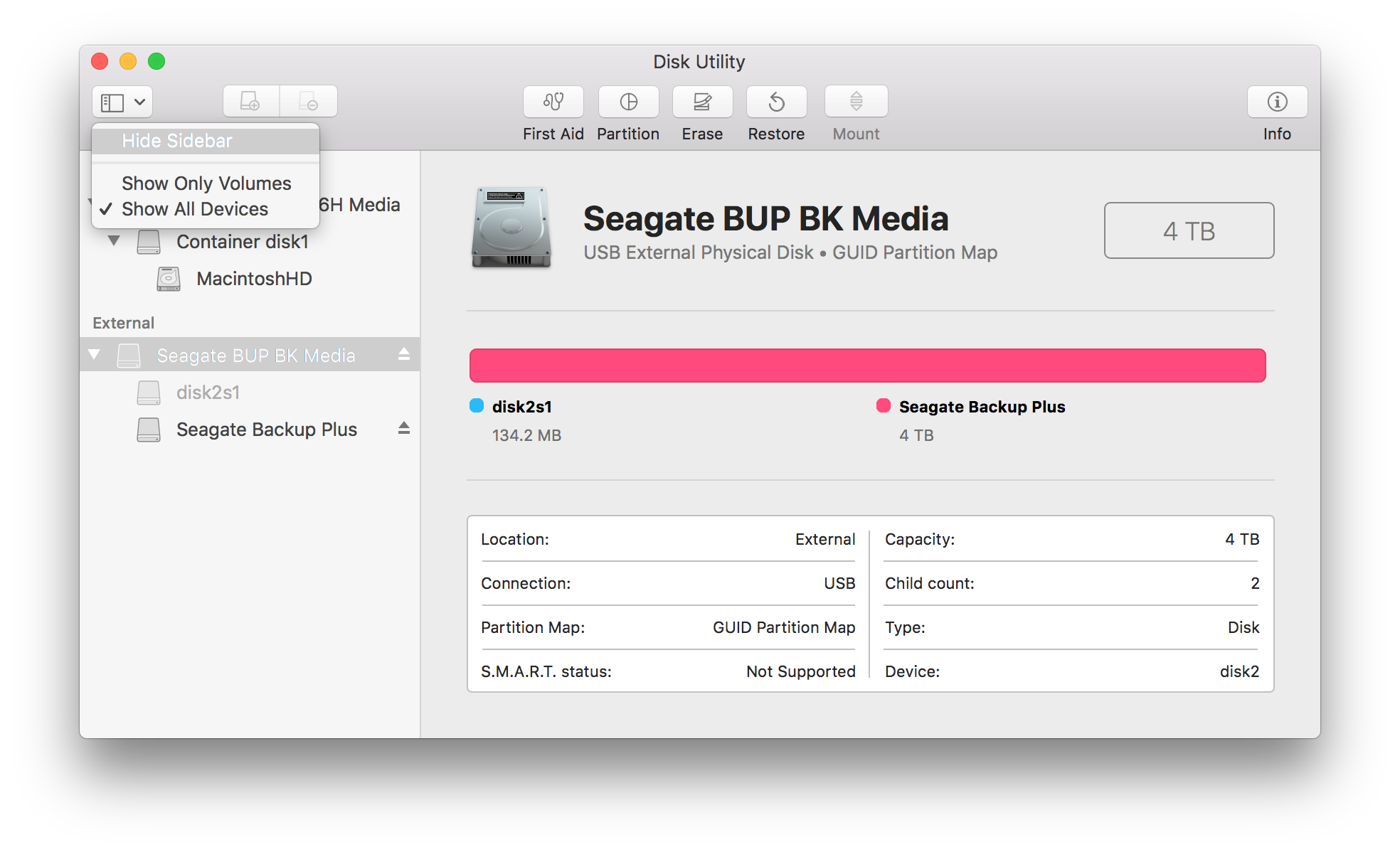 Disk Utility Errors And Questions For Macos 10 11 Higher