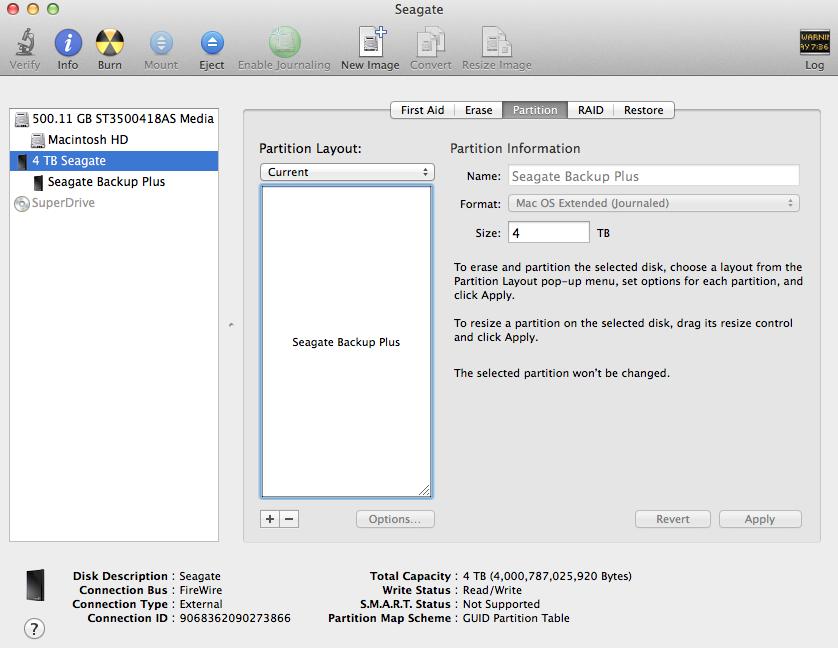 Seagate Drive Settings For Mac